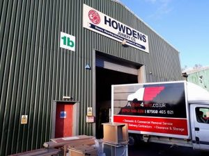Timber Deliveries from Howdens Swansea