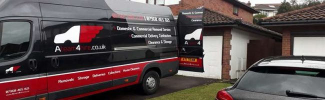 House Removals Swansea Vans